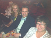 At the Bob Carr Center for the Performing Arts with Margie Hatfield and Kristopher Schave
