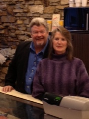 Larry and Cindy Sloan, owners of The Talent Factory, Nevada, IA.